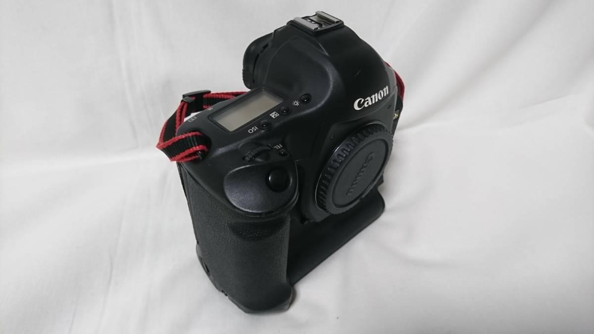 お買い得!1円スタート!Canon キヤノン EOS-1 Ds MarkⅢ デジタル一眼レフ ボディ_画像9