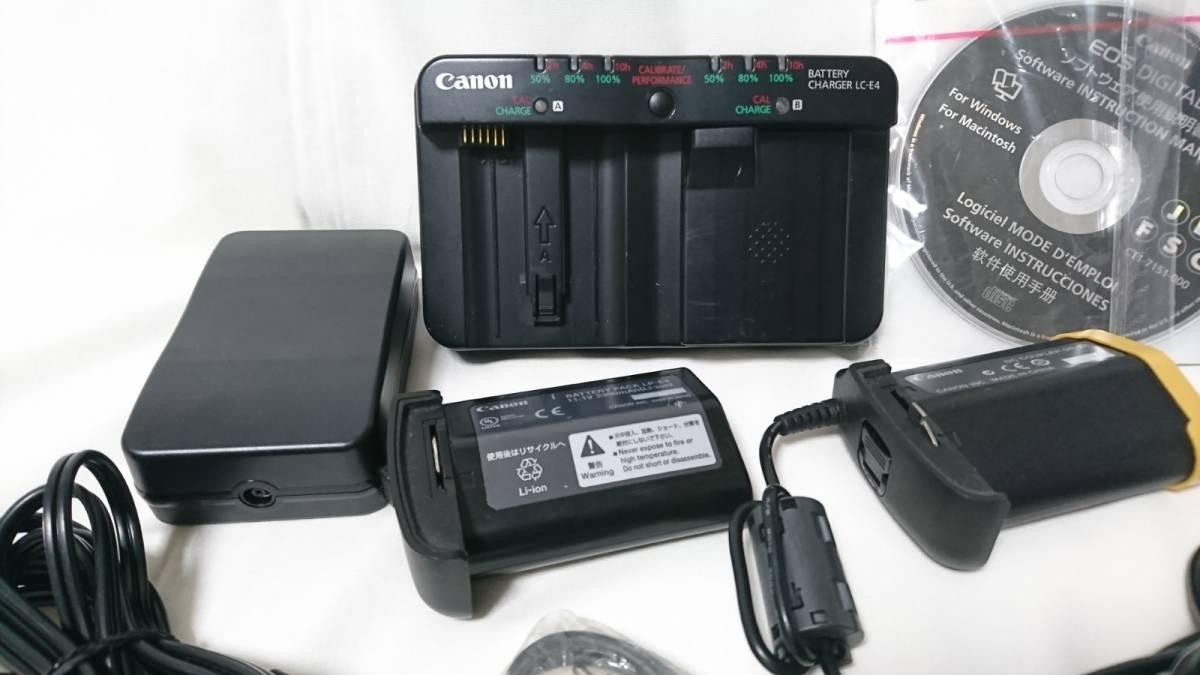 お買い得!1円スタート!Canon キヤノン EOS-1 Ds MarkⅢ デジタル一眼レフ ボディ_画像6