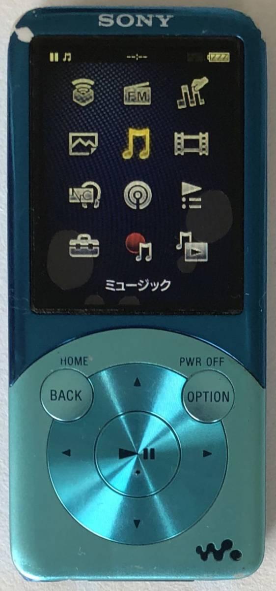 【SONY】デジタルウォークマン NW-S754(8GB)ブルー:送料185円