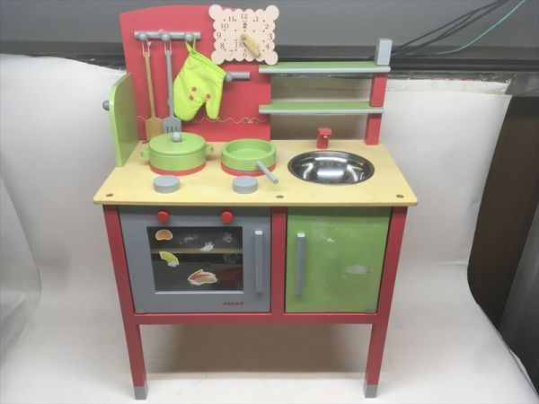 Toy Zara S Toysrus Janod Wooden Bistro Kitchen Toy Maxi Kuche Maxi Kitchen Child Toy Object Age 3 Years Old And More A Real Yahoo Auction Salling