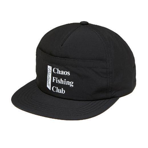 新品未使用!RADIALL × Chaos Fishing Club 【TRUCKER CAP】ラディアル カオスフィッシングクラブ 帽子 キャップ コラボ 黒 ルード