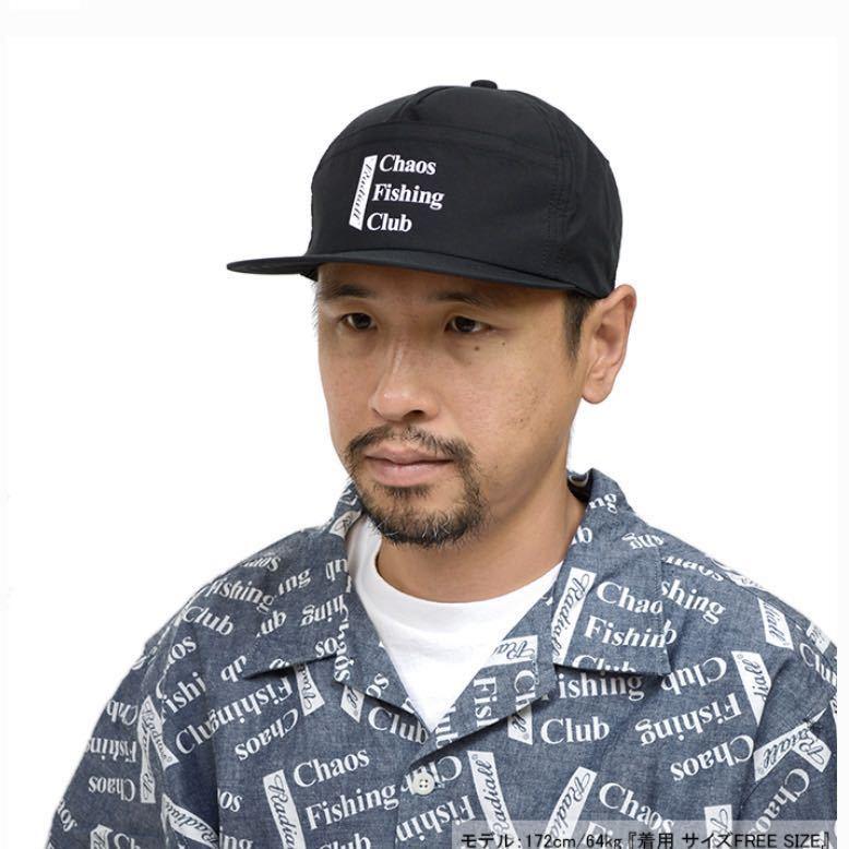新品未使用!RADIALL × Chaos Fishing Club 【TRUCKER CAP】ラディアル カオスフィッシングクラブ 帽子 キャップ コラボ 黒 ルード_画像3