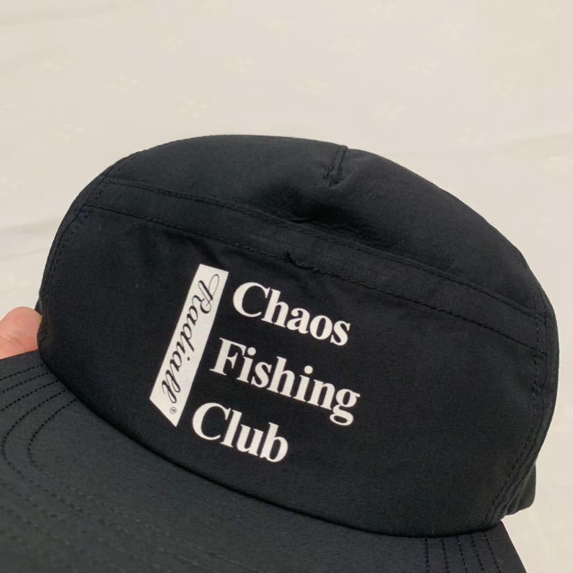 新品未使用!RADIALL × Chaos Fishing Club 【TRUCKER CAP】ラディアル カオスフィッシングクラブ 帽子 キャップ コラボ 黒 ルード_画像6