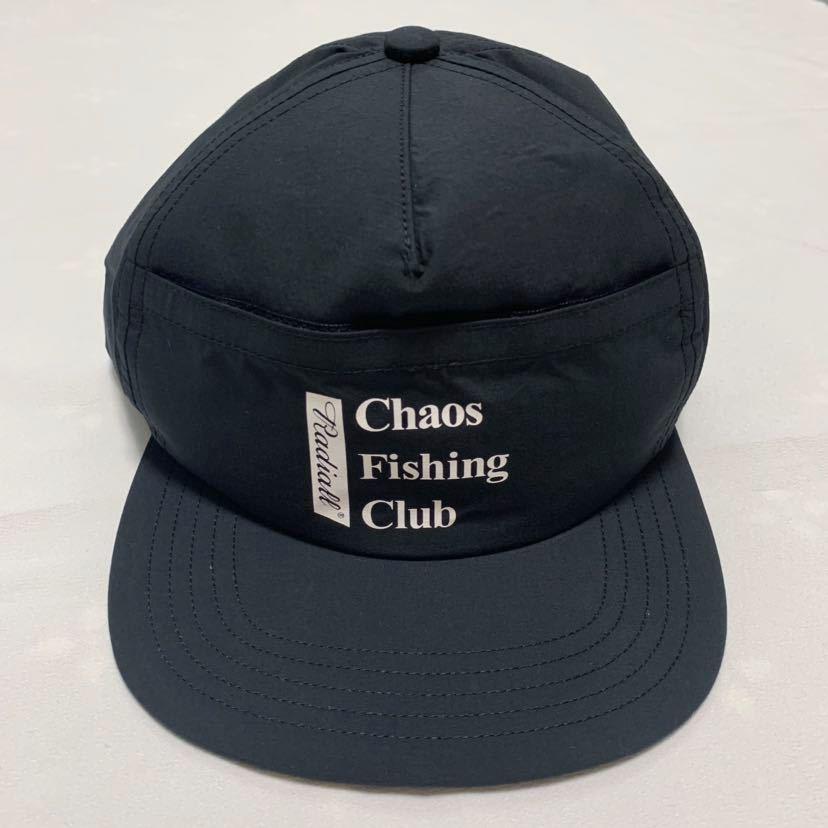 新品未使用!RADIALL × Chaos Fishing Club 【TRUCKER CAP】ラディアル カオスフィッシングクラブ 帽子 キャップ コラボ 黒 ルード_画像9