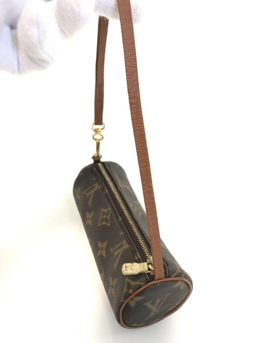 1円スタート ルイヴィトン 旧型 パピヨン ポーチ 親子 ハンドバッグ モノグラム _画像8