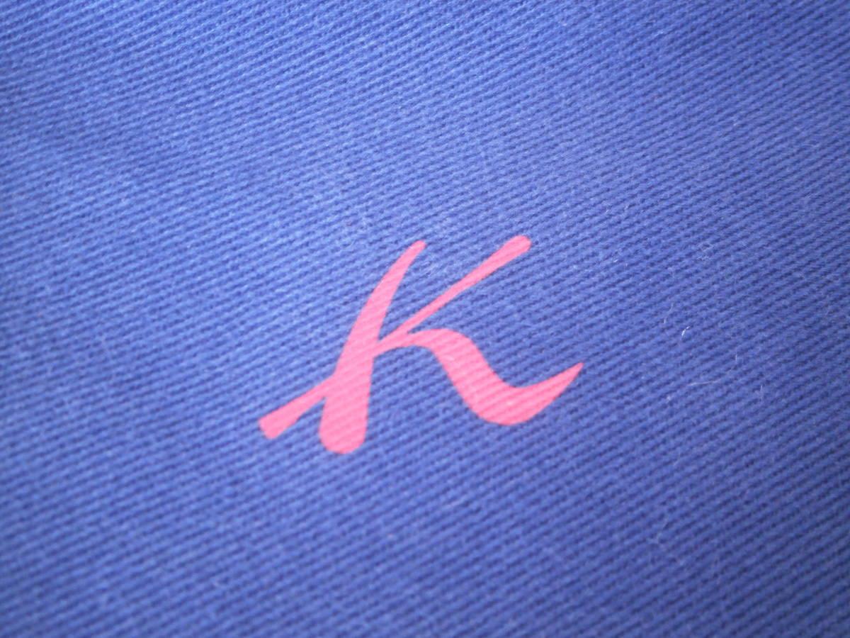 Y229■横浜元町■Kitamura■キタムラ■老舗■トートバッグ■ショルダーバッグ■レディース■ロゴ■紺×赤■ネイビー(#S80_画像3