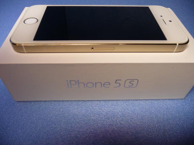 ★ 極美品 docomo iPhone 5s16GB ゴールード 判定 ○ ★_画像7