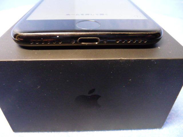 ★ 極美品 docomo iPhone 7 128GB ジェットブラック SIMフリー判定○★_画像4
