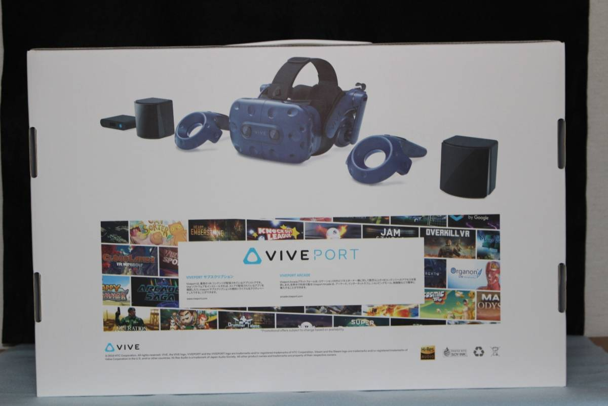 HTC VIVE Pro フルセット版 99HANW009-00 PC VR_画像3