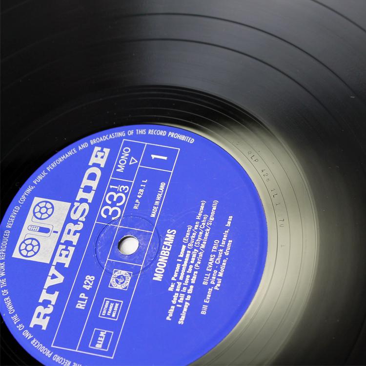 Bill Evans/Moon Beams◆オランダ オリジナル MONO RLP428 Holland コーティングジャケット 1_画像5