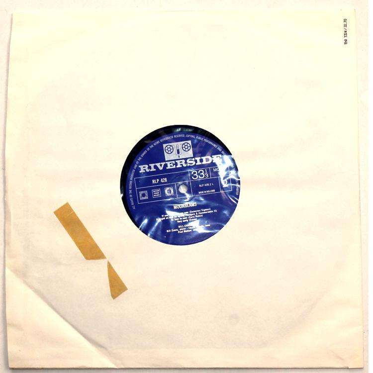 Bill Evans/Moon Beams◆オランダ オリジナル MONO RLP428 Holland コーティングジャケット 1_画像8