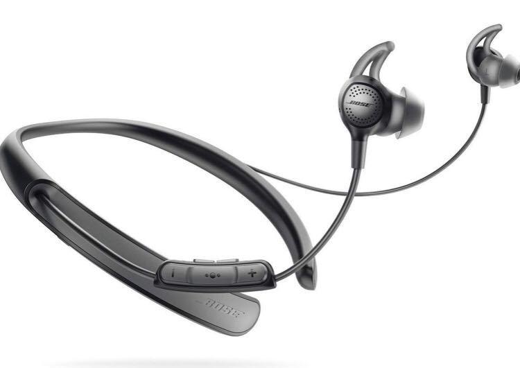 【極美品】 Bose QuietControl 30 wireless headphones ワイヤレスノイズキャンセリングイヤホン 付属品完備 ボーズ Bluetoothイヤフォン_画像1