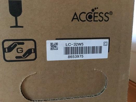 売切り★新品未使用★シャープ 32V型 液晶 テレビ AQUOS LC-32W5 「YouTube」ダイレクトキーを搭載_画像4