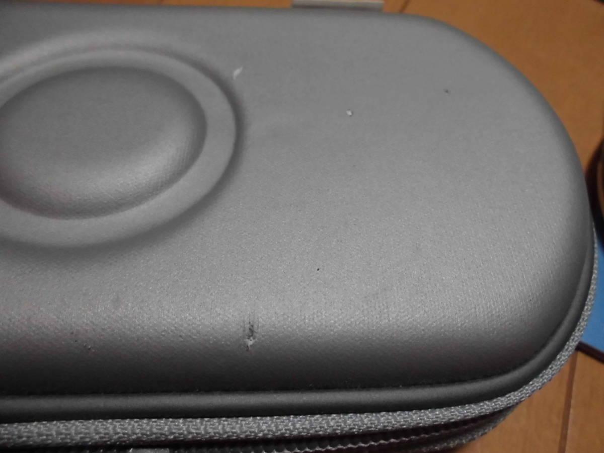 【中古】 PSP「プレイステーション・ポータブル」 ミスティック・シルバー (PSP-3000MS) + メモリー4GB + ケース付 【注意事項有り】_経年劣化が酷くボロボロ&傷つきやすいです