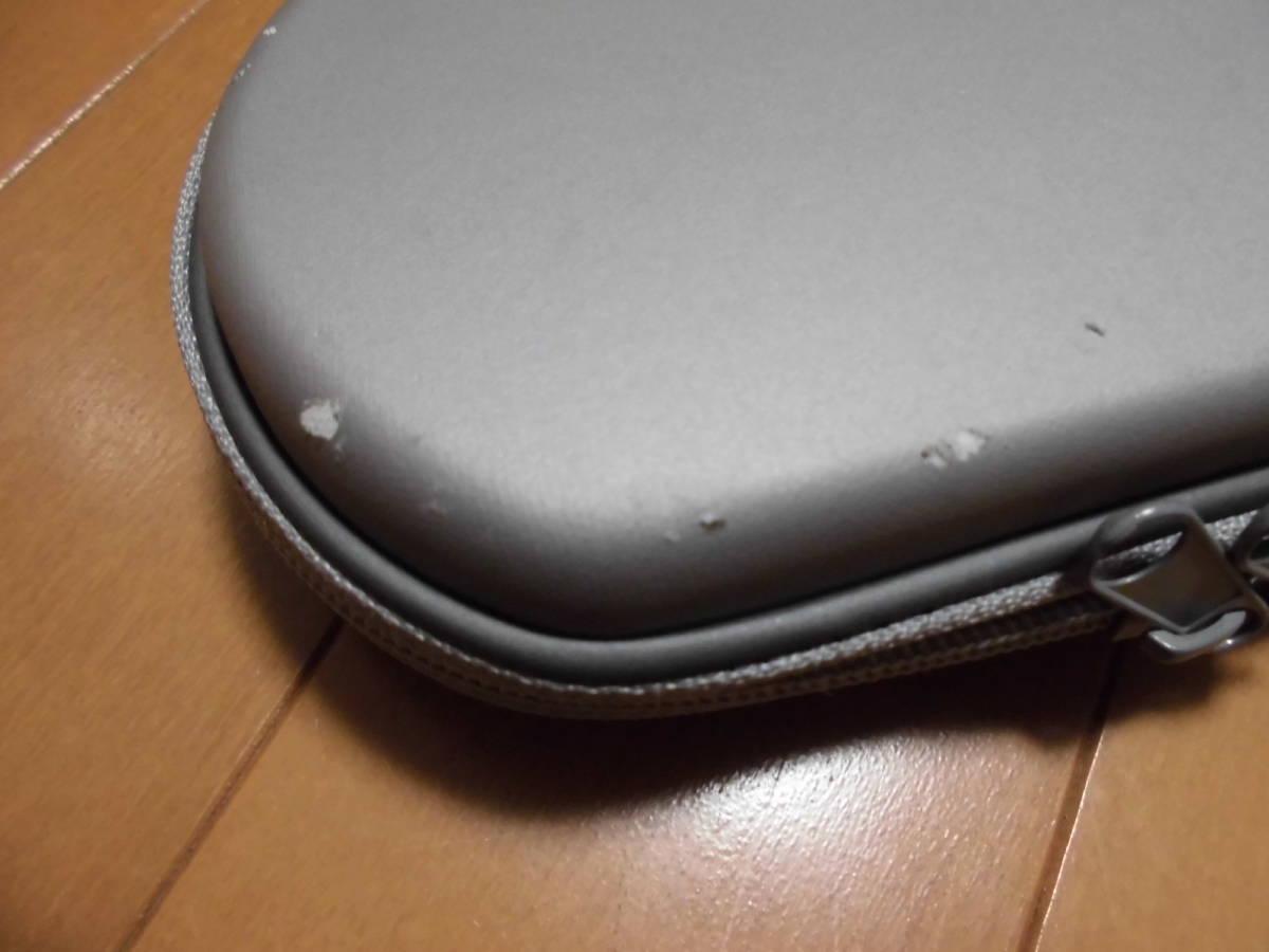【中古】 PSP「プレイステーション・ポータブル」 ミスティック・シルバー (PSP-3000MS) + メモリー4GB + ケース付 【注意事項有り】_画像7