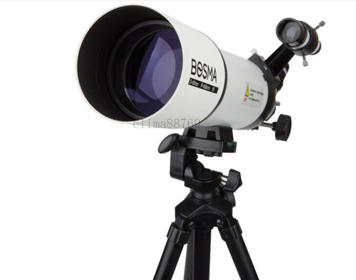★高品質★天体望遠鏡 屈折式 専用 観星 高倍率 重量3kg 深宇宙 成人 天文学 高清 口径80MM 焦点距離400MM サイズ:47×30×16cm