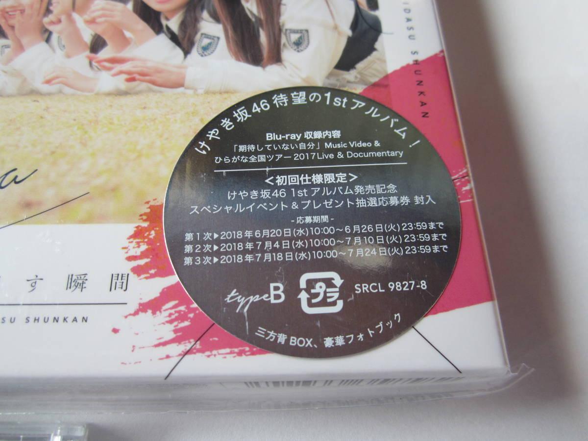 けやき坂46 走り出す瞬間 Type-A Type-B 通常盤 3枚セット 日向坂46 ひらがなけやき _画像7