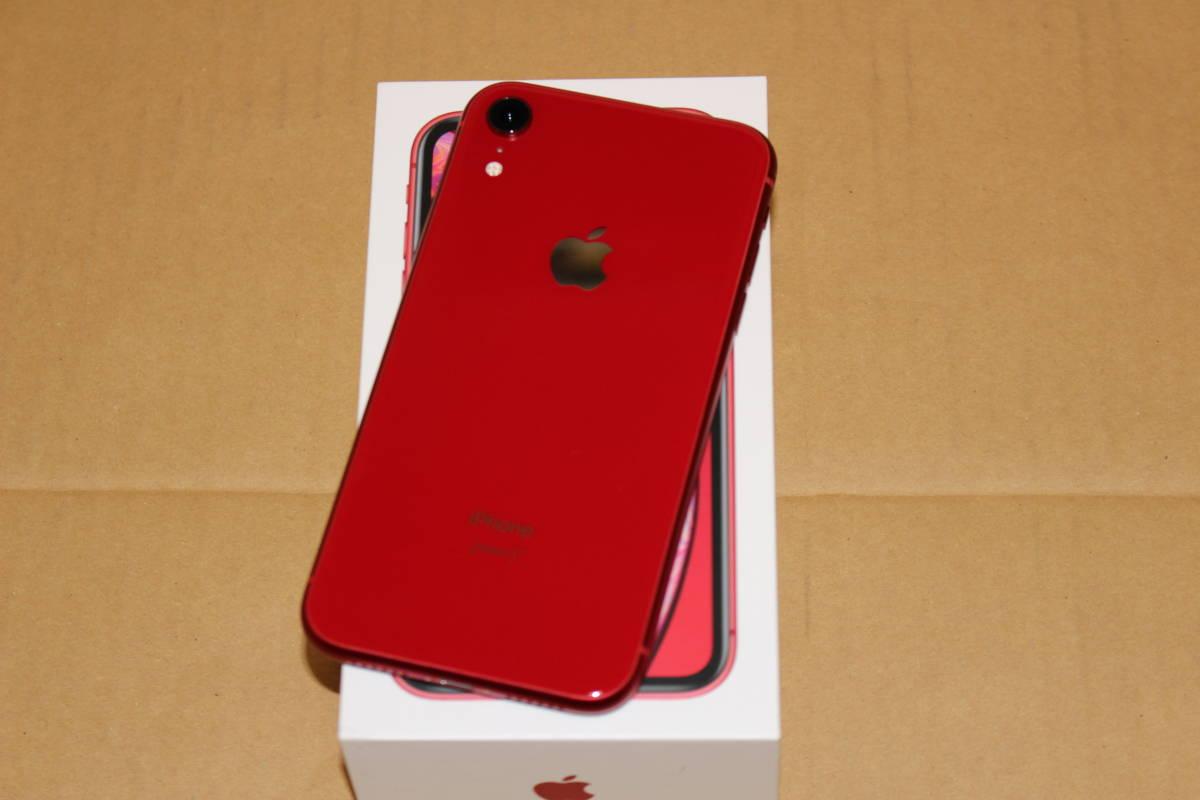 【超美品】香港版/iPhone XR/128G/レッド/Dual SIM/DSDS_画像2