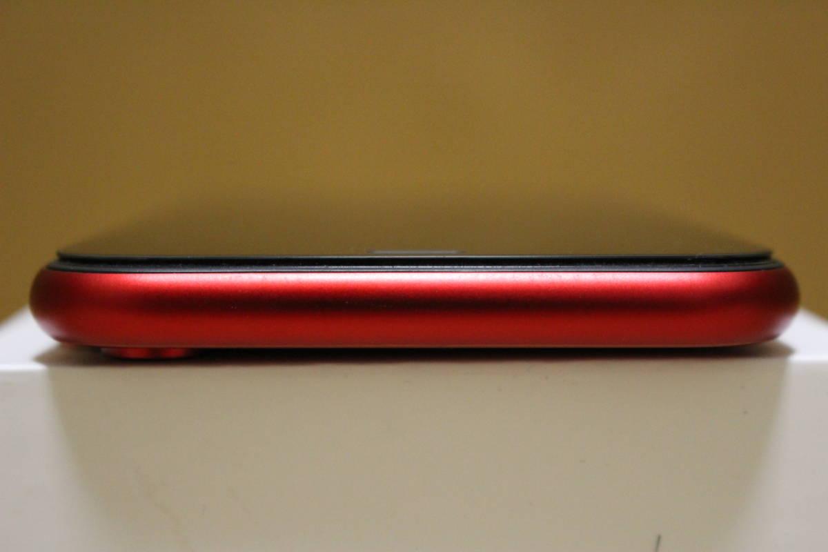 【超美品】香港版/iPhone XR/128G/レッド/Dual SIM/DSDS_画像4