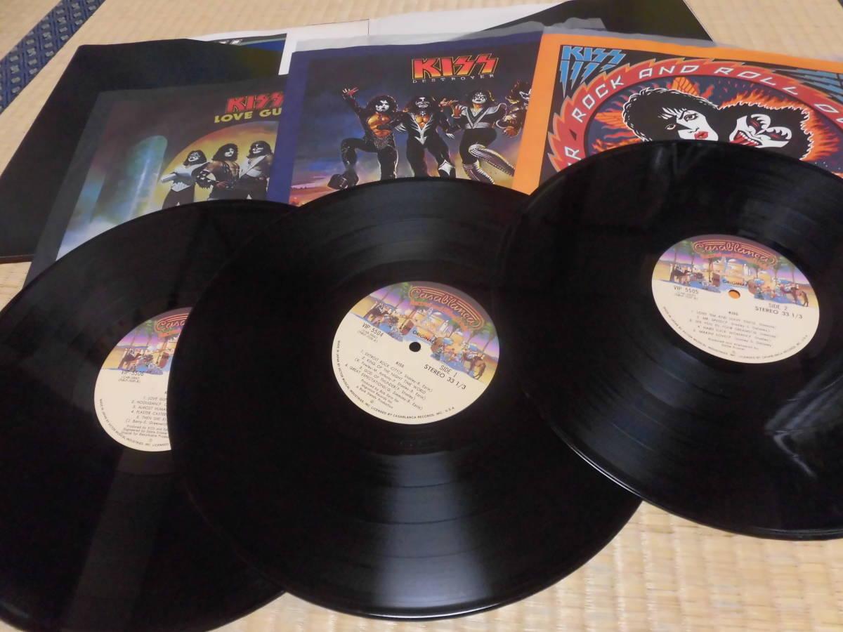 キッス KISS 「続・地獄の全貌」 帯付 ハードロック ヘヴィーメタル フォーク LP _画像2