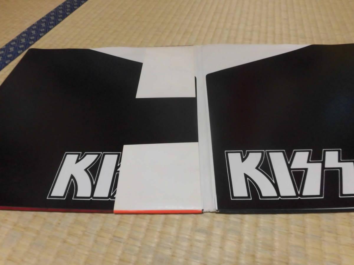 キッス KISS 「続・地獄の全貌」 帯付 ハードロック ヘヴィーメタル フォーク LP _画像9