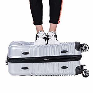[TTOバリジェリア]TTOvaligeria スーツケース S機内持込 大型軽量 容量拡張 TSAロック搭載 静音 旅行用品 (S ローズゴールド)_画像9