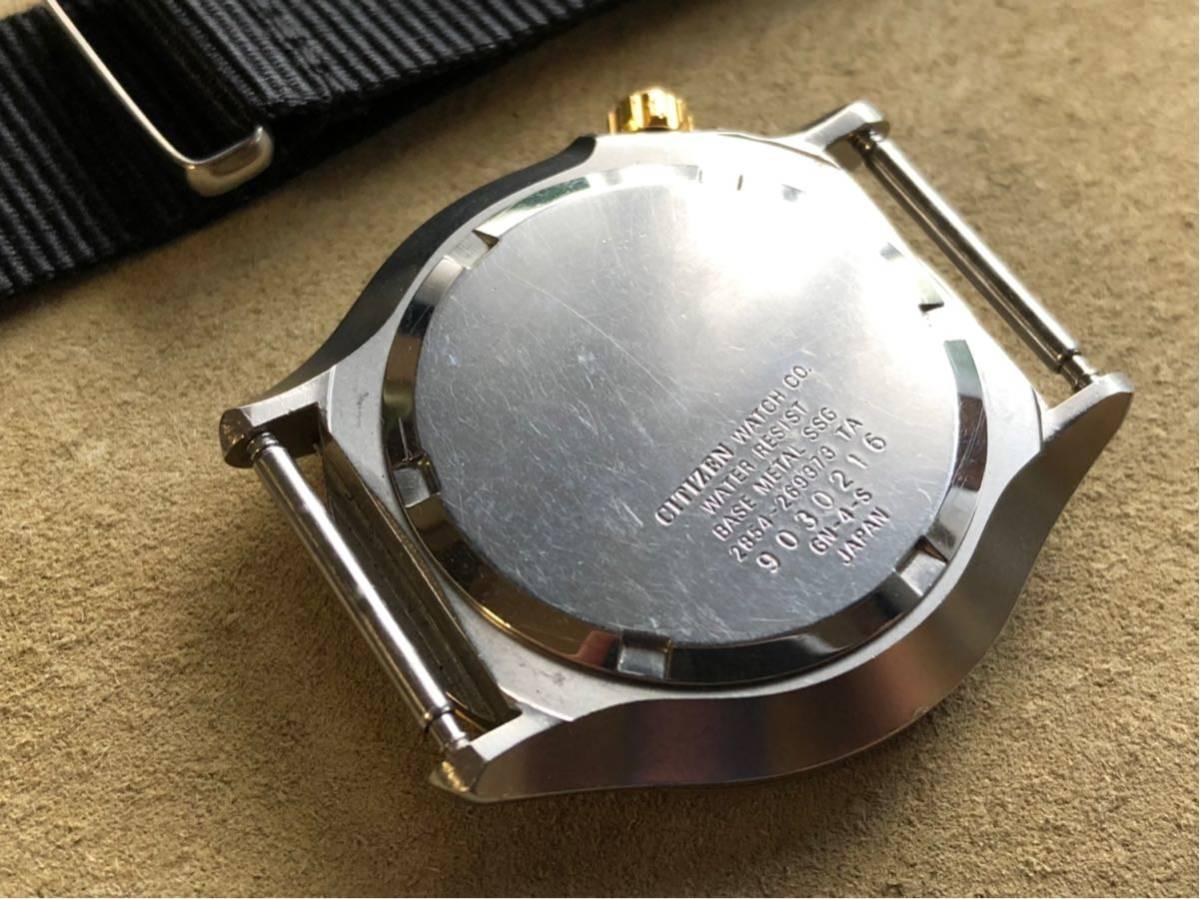 【超希少モデル】シチズン プロマスター エアダイバー 2854-269373 CITIZEN PROMASTER AIR DIVER ステンレス シャンパンゴールド 文字盤_画像5