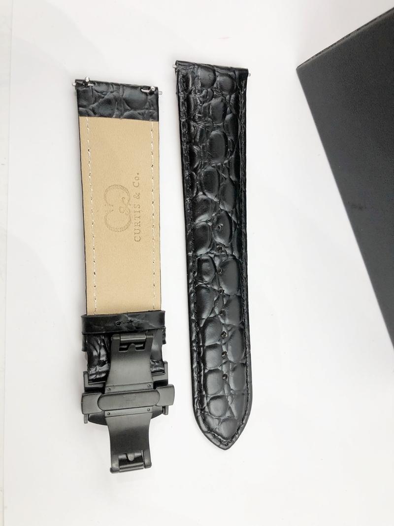 稀少 新品 未使用 未開封 カーティス 自動巻き ピンクゴールド 1円 メンズ 腕時計 PG-RG 2019年モデル 正規 ビッグフェイス 裏スケ_画像6