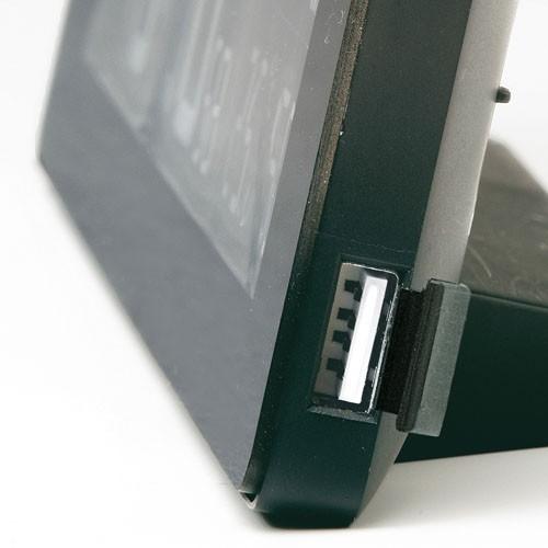 【中古・超美品】セイコークロック 置き時計 黒 目覚まし時計 電波 デジタル 選べる70色!グラデーションモード搭載 DL205K_画像5