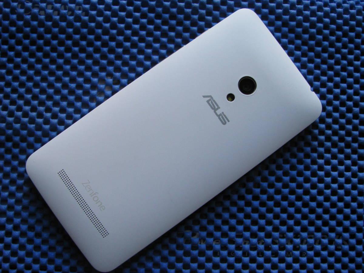 【SIMフリー】ASUS Zenfone5 LTE 16GB ホワイト (A500KL) 中古美品_画像3