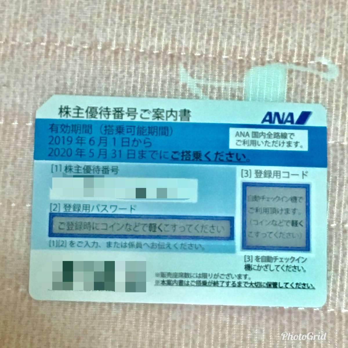 ANA 株主優待券1枚・ANA グループ優待券1冊_画像2