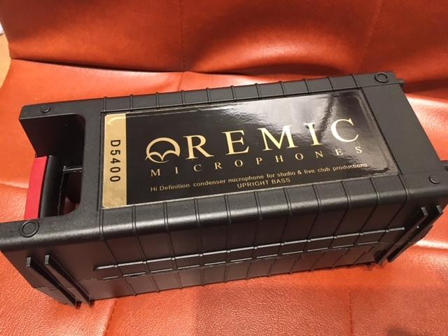 激レア REMIC D5400 コントラバス用マイク 日本未発売