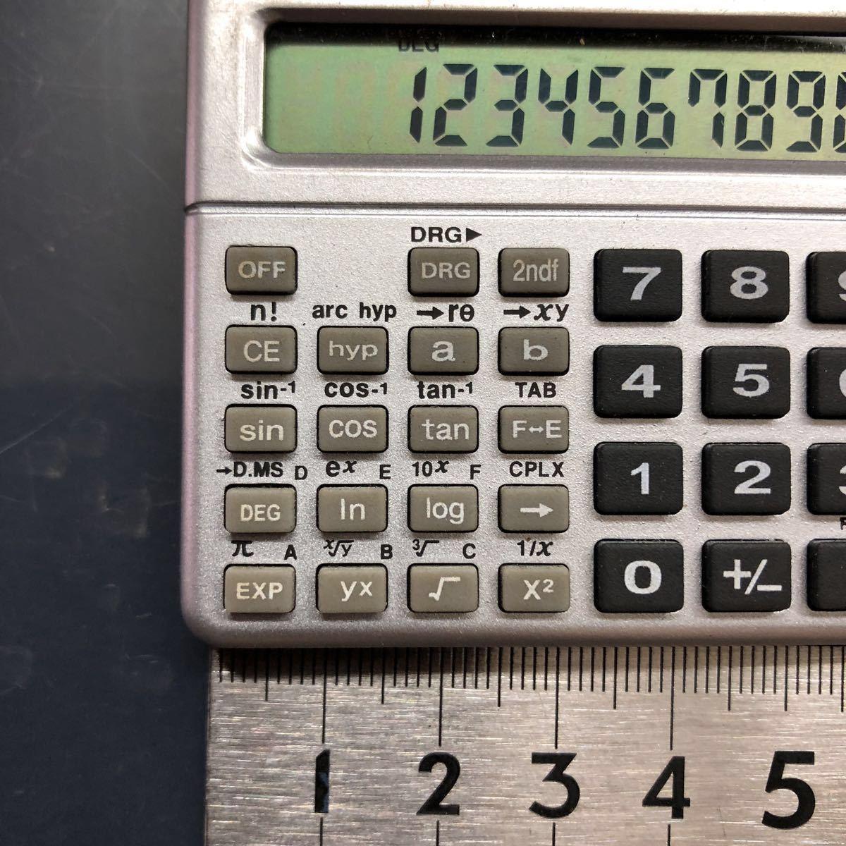 KADIO KD-1005 物凄く小さい関数電卓中古美品_画像2