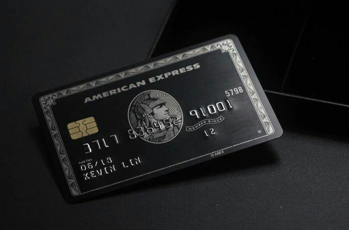 【数量限定】 印字可能! アメックス Amex センチュリオンカード ブラックカード メタル レプリカ_画像2