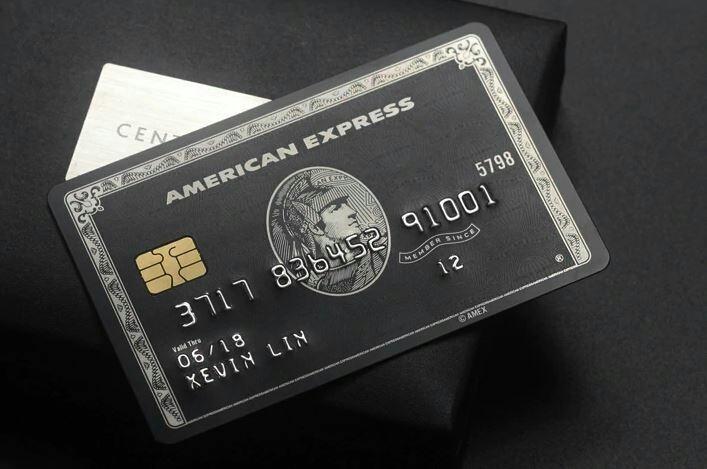 【数量限定】 印字可能! アメックス Amex センチュリオンカード ブラックカード メタル レプリカ_画像1