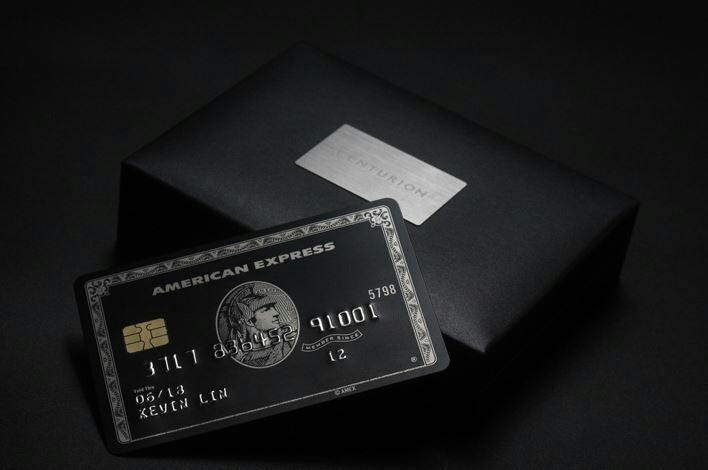 【数量限定】 印字可能! アメックス Amex センチュリオンカード ブラックカード メタル レプリカ_画像3
