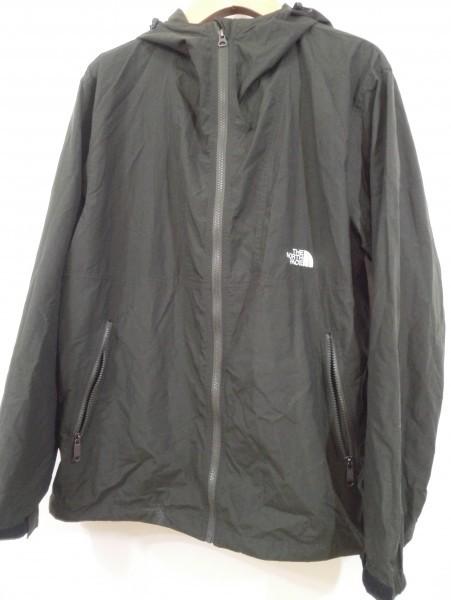 ノースフェイス コンパクト ジャケット ナイロン Lサイズ ブラック NP71530 メンズ Z5K60