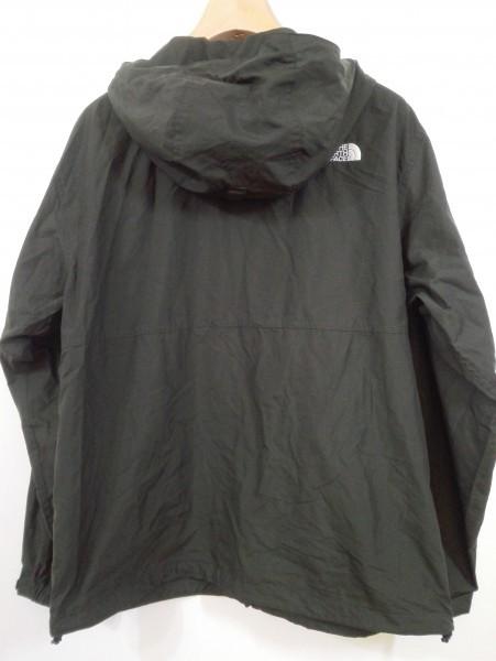 ノースフェイス コンパクト ジャケット ナイロン Lサイズ ブラック NP71530 メンズ Z5K60_画像7