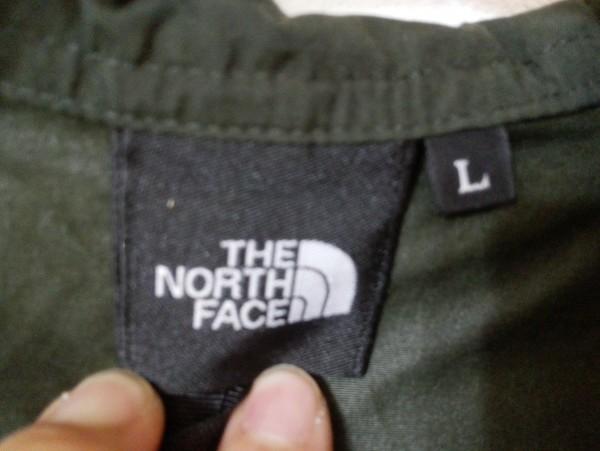ノースフェイス コンパクト ジャケット ナイロン Lサイズ ブラック NP71530 メンズ Z5K60_画像4