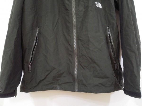 ノースフェイス コンパクト ジャケット ナイロン Lサイズ ブラック NP71530 メンズ Z5K60_画像3