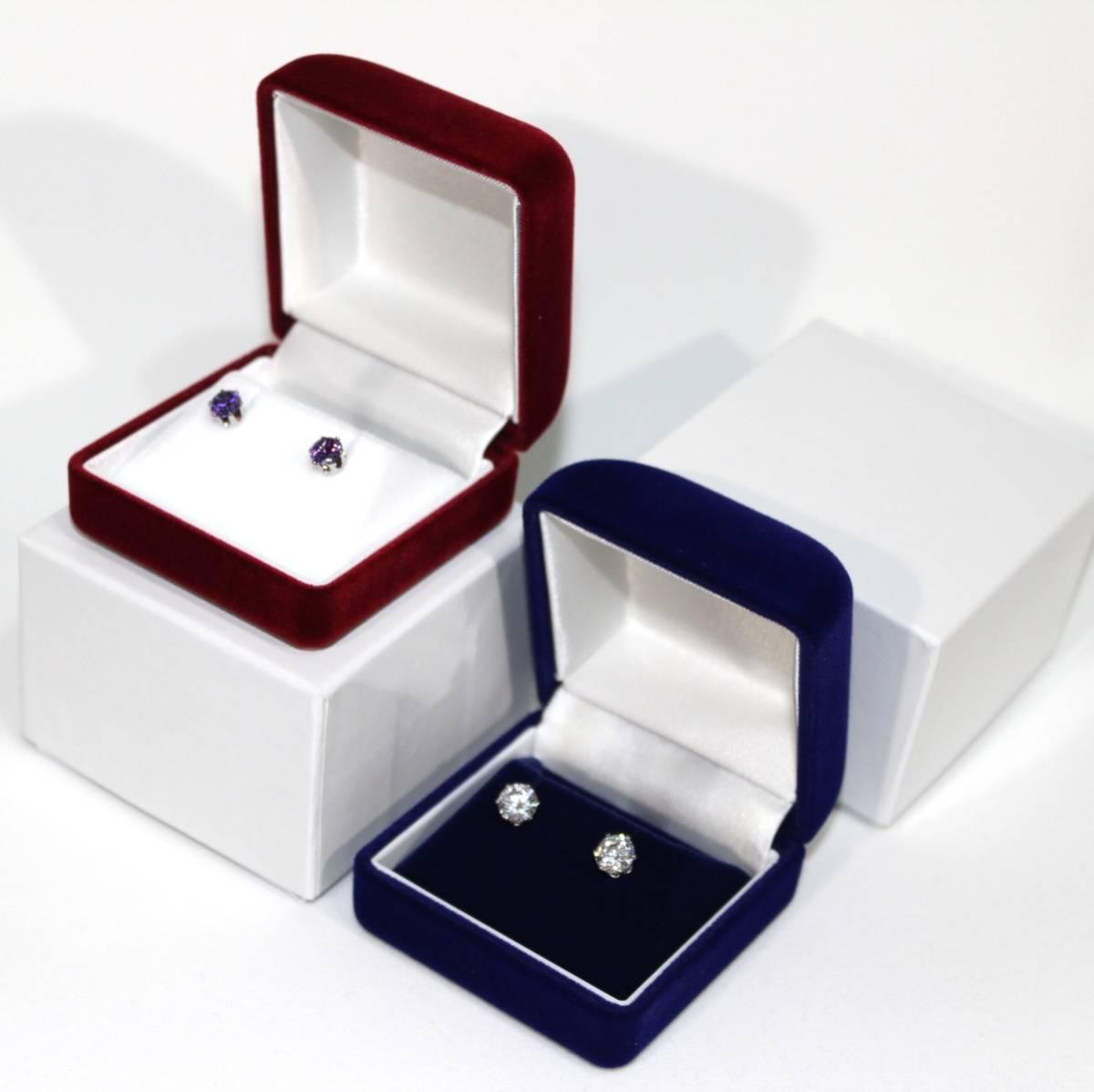 ピアス/ネックレス/イヤリング プレゼント 高級ジュエリーケース/アクセサリーボックス/ブラック ハンドメイド/収納/箱/BOX/ギフト/贈り物_画像3