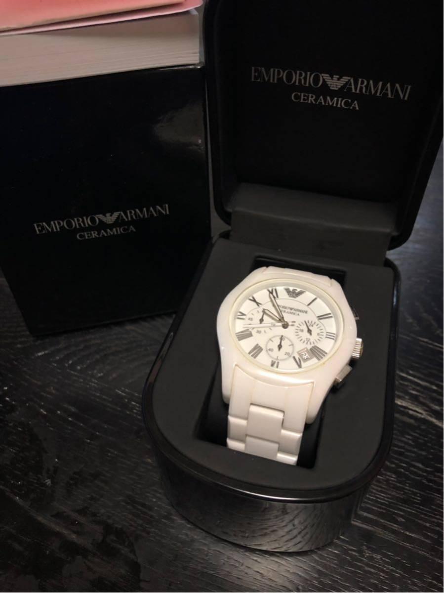 sneakers for cheap 40399 51463 エンポリオアルマーニ、メンズ腕時計 、アルマーニ、腕時計、EMPORIO ARMANI 、クロノグラフ 、セラミック