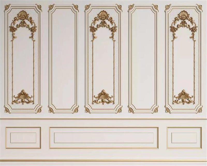 Beibehang カスタム任意のサイズ壁画壁紙 3D エンボス加工ドアフレーム石膏ヨーロッパスタイル壁画リビングルームオフィス 3d 壁紙_画像4