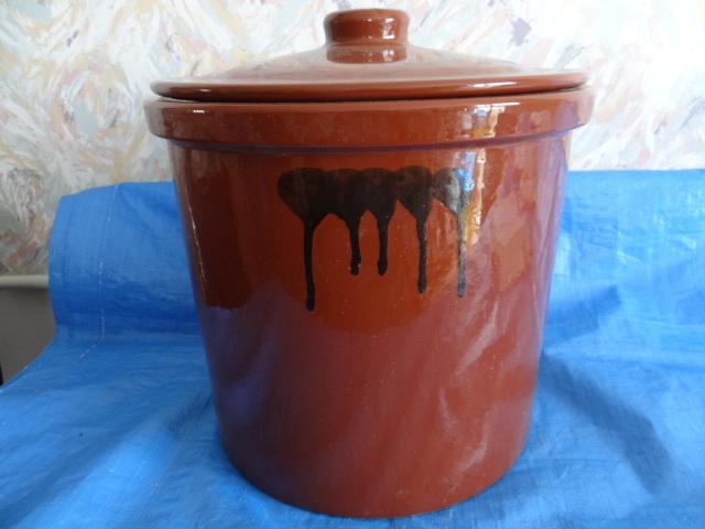 C052439 甕 かめ漬物 味噌 梅干し 飲食物容器