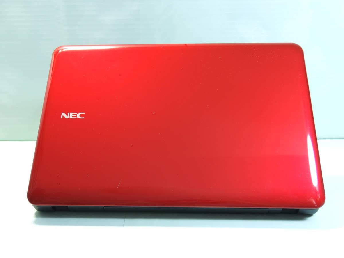 新品SSD 480GB/メモリ8GBで動作快速!人気のレッド!! NEC LaVie 【LS550/E】★Core i5-2410M 2.3GHz(最大2.9GHz)/ブルーレイ/Win10HOME★_画像6