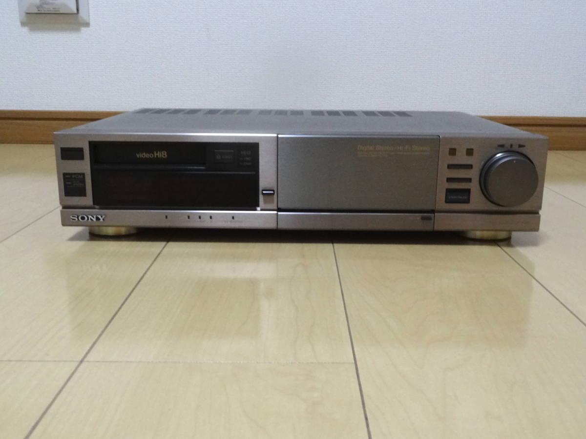 ★送料込★SONY Hi8 ビデオデッキ EV-BS3000 ジャンク