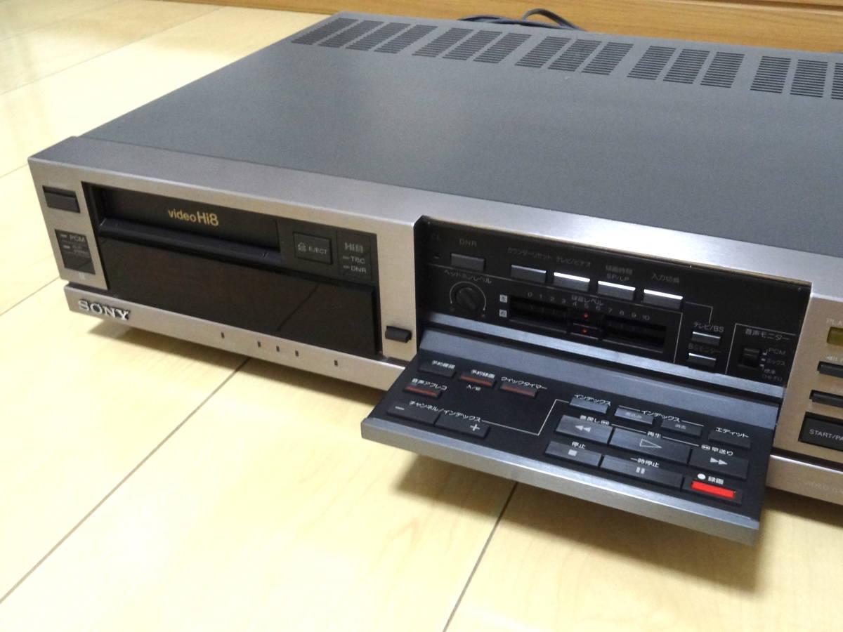 ★送料込★SONY Hi8 ビデオデッキ EV-BS3000 ジャンク_画像4