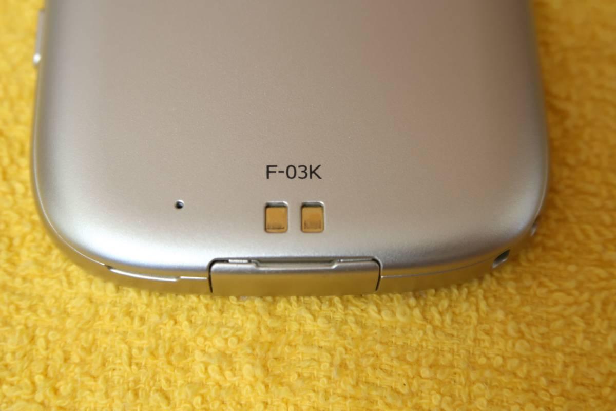 docomo らくらくスマートフォン me F-03K SIMロック解除済み??_画像5