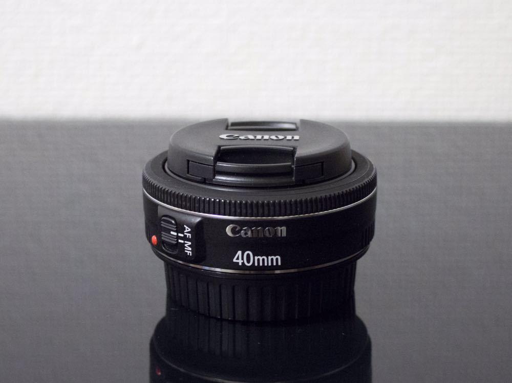 Canon EF40mm F2.8 STM EOS フルサイズ APS-C 単焦点レンズ キヤノン キャノン パンケーキレンズ_画像3