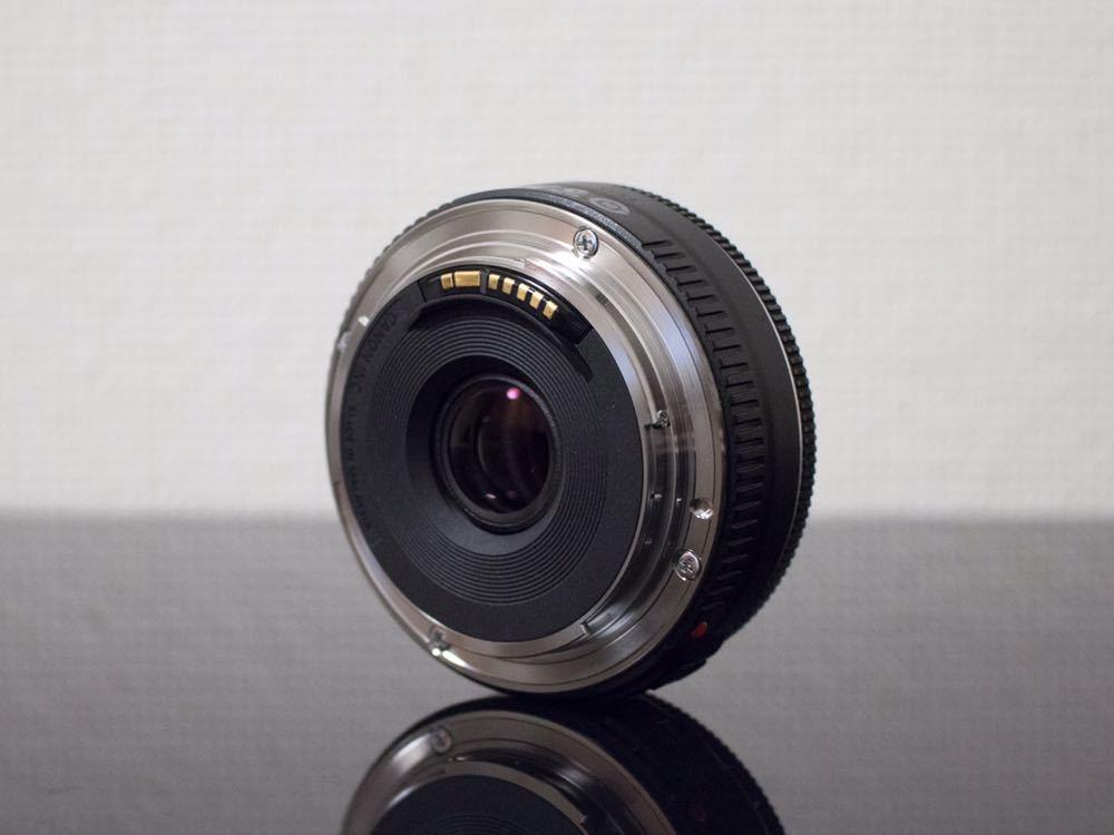 Canon EF40mm F2.8 STM EOS フルサイズ APS-C 単焦点レンズ キヤノン キャノン パンケーキレンズ_画像2